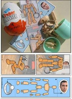 Cute Proposal with a Custom Kinder Surprise Egg