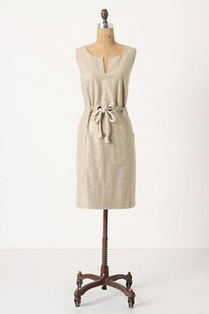 Ah linen.  Another good reason for summer to return.  Thanks Anthro.  Love the mix of modern simple elegance with rustic.
