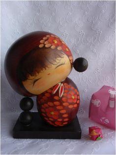 Japaese Kokeshi doll, vintage