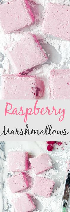 Homemade pink raspberry marshmallows for your sweetie on Valentine's Day! Small batch recipe @dessertfortwo Pink Marshmallows, Recipes With Marshmallows, Homemade Marshmallows, Homemade Candies, Marshmallow Recipes, Strawberry Mousse, Dessert For Two, Valentine Desserts, Low Carb Cheesecake