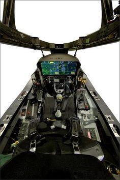 F-35 cockpit, so high tech