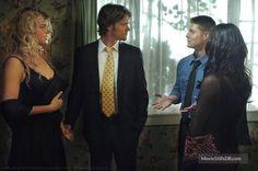 Supernatural - Publicity still of Jared Padalecki, Jensen Ackles, Adrianne Palicki & Michelle Borth
