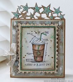 Adore this creation by Emma for the Simon Says Stamp Monday challenge (Use a Stamp)