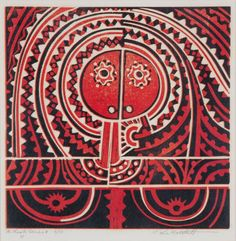 Te Kooti Series 4 //PARATENE MATCHITT Nz Art, Maori Art, Australian Art, Art Auction, New Zealand, Abstract Art, Arts And Crafts, Contemporary, Prints