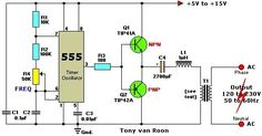 12VDC to 220VAC Inverter with 555 Timer | Electrical Engineering Blog