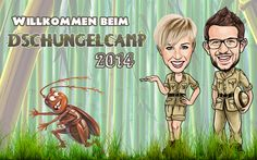 Willkommen beim Dschungelcamp 2014 Start der 8. Staffel von Ich bin ein Star - Holt mich hier raus!