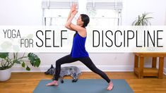 Yoga For Self Discipline  |  Yoga With Adriene 46 min practice. - Loved it!