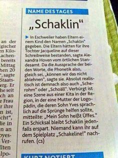SCHAKLIN !!!