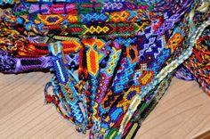 Wholesale, of 15, Aztec design,woven, friendship bracelets, cotton,handmade, NEW
