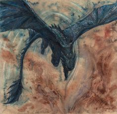 Night Fury by ~Estelinakina on deviantART (Also see DragonLady's board How to Train Your dragon)