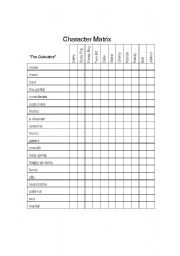 OUTSIDERS Plot Chart Organizer Diagram Arc (by S.E. Hinton