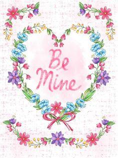 Happy Valentine's Day! 💖 Today's #dailyartpick is this brand new image from Lisa Powell Braun #artlicensing #valentinesday #bemine