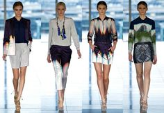 Tie Dye Blazer | ... Archive » Mathew Williamson Spring 2013 e seu Tie Dye maravilhoso