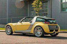 #Smart #Roadster #Brabus (Besonderheit: mit #Schaltgetriebe!)