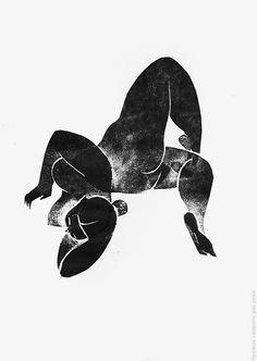 Monochrome engraving on cardboard. No attribution Linocut Prints, Art Prints, Gravure, Figure Painting, Figurative Art, Graphic, Art Inspo, Line Art, Printmaking