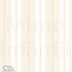 Papel de Paredes para decoração de quarto de bebê e infantil Bobinex Bambinos 3359, REF3359, listras, listrado, bege, branco | SP, BH, MG, RJ, DF