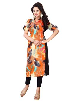 5e011bece2 Kurtis, Floor Length Gown, Collections, High Neck Dress, Stylish, Flooring,  Gowns, Floral, Shopping