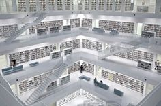 Picture of the Day: Inside the Stuttgart City Library