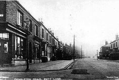 Way We Were: Old photograph of the corner of Congleton Road and Woodshutts Street in Butt Lane