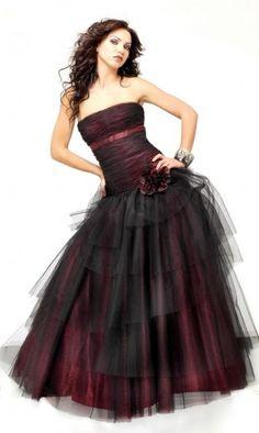 plesové šaty Darkelf - vampire, gothic, emo, lolita, burlesque, retro, pin-up, shop