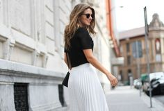 Zara top and skirt