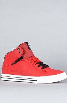 Supra The Society Mid in Red