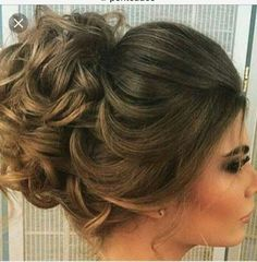 Best Wedding Hairstyle With Mid Length Hair Elegant Wedding Hair, Wedding Hair And Makeup, Beauty Makeup, Hair Makeup, Hair Beauty, Headband Hairstyles, Cute Hairstyles, Unique Wedding Hairstyles, Bridesmaid Hairstyles