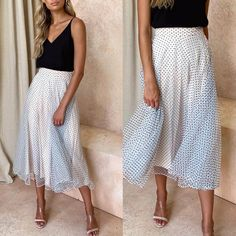 Fashion Casual Wave Print High Waist Casual Skirt – streetstyletrends skirt outfit summer summer skirt outfits dress and skirt Summer Skirts, Summer Outfits, Skirt Outfits, Dress Skirt, Skirt And Top Set, Skirt Set, Urban Fashion, Womens Fashion, Elegant Woman