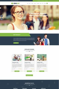 Page template, education website templates, one page website, mobile web de Web Design, Design Sites, Websites Design, Microsoft Word, Education Website Templates, Best Educational Websites, Educational Crafts, Template Web, Bootstrap Template