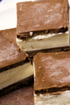 Brownie Batter Ice Cream Bars as shared on Facebook by the goddess, Connie York =)