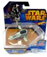 Star Wars  Boba Fetts Slave 1  Rebels  Firing missile launcher  Die-cast Hasbro  New in box.  Shipped fast and free