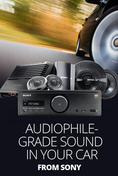 "If you're into digital music, you're probably used to settling for ""lossy"" sound when you play your favorite tunes in the car. Well, you don't have to settle anymore. Sony's High-Resolution Audio system lets you enjoy the songs you love in all the glorious detail the artists intended. The  system includes this RSX-GS9 receiver, plus speakers, amps and subs (all sold separately) that are designed to work together to produce stunning, audiophile-quality sound in your car."
