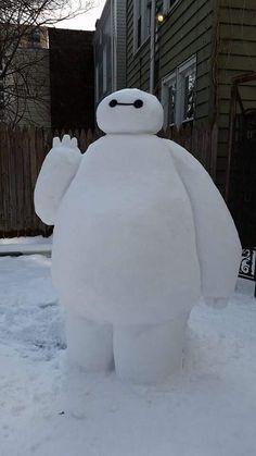 Snow Baymax