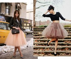 06/09/2014 fashion: Tulle skirt inspiration