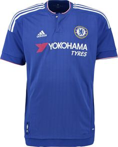 The new Adidas Chelsea Home, Away and Third Kits are sponsored by Yokohama for the first time. The new Chelsea Home Kit is classical, while the Chelsea Away Jersey has a clean design and the new Chelsea Third Kit boasts a modern front graphic. Chelsea Fc, Chelsea Soccer, Football Team Kits, Soccer Kits, Football Shirts, Soccer Jerseys, Camisa Do Chelsea, Chelsea Shirt, Chelsea Champions