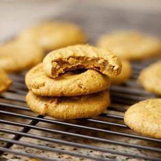 Pumpkin Pie Cookies (Vegan, Grain-free) #justeatrealfood #detoxinista