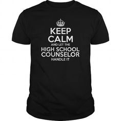 Awesome Tee For High School Counselor T Shirts, Hoodies, Sweatshirts. GET ONE ==> https://www.sunfrog.com/LifeStyle/Awesome-Tee-For-High-School-Counselor-109165119-Black-Guys.html?41382