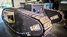 Guy Martin's World War One Tank Army Vehicles, Armored Vehicles, Ww1 Tanks, Guy Martin, Band Of Brothers, World War One, British Army, Tv 2017, Guys