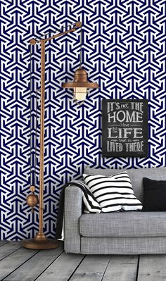 Geometric Tribal Pattern Self Adhesive Vinyl Wallpaper D212