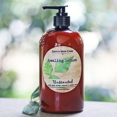 Unscented HEALING LOTION - 17 ozs (503 ml) $24