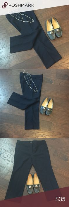 """LOFT Petite Ankle Pants in Forever Navy NWT Brand New w/ Tag.  I waited to long to return so trying to recoup some of my cost. Forever Navy Petite Straight Ankle Pants by Ann Taylor LOFT. 12P. Inseam: 24""""; Waist L-R: 17.5"""". #JEWELRY #POSHMARK #BLING #RODEO #FASHIONISTA #COWGIRL #SOUTHWEST #ARIAT #AZTEC #WESTERN #CHIC #FAITH #RUNWAY #CROSS #TRIBAL #BOHO #KENDRA #NAVAJO #STELLA  #SOUTHERN #SPARKLE #CHIC 💞💞 LOFT Pants Ankle & Cropped"""