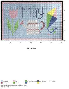 mom and briannas birth month Cross Stitch Boards, Cross Stitch Needles, Plastic Canvas Crafts, Plastic Canvas Patterns, Cross Stitch Designs, Cross Stitch Patterns, Cross Stitching, Cross Stitch Embroidery, Graph Crochet