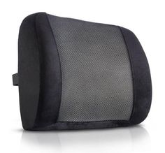 Lower Back Pain Cushion - Use For Effective Lumbar Support And Back Pain Relief RELIEVES LOWER BACK PAIN AND TIGHTNESS - If you've ever experienced pressure or tightness in your lower back from sitting, then the Backguard is your answer! Get the gentle lower back support you need to sit pain free! PROMOTES CONFIDENT HEALTHY POSTURE - The Backguard gently supports your lower back's natural arc to help you sit up confidently and maintain healthy vibrant posture! You'll start feeling more…