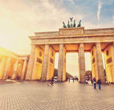 The Brandenburg Gate. Berlin. Germany. Бранденбургские ворота. Берлин. Германия