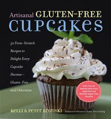 Gluten-free and yummy! Kelli and Peter Bronski, writers of Artisanal Gluten-Free Cooking give those with gluten allergies something to sink their teeth into with this wonderful cupcake cookbook. Gluten Free Cupcakes, Fun Cupcakes, Gluten Free Desserts, Gluten Free Recipes, Vanilla Cupcakes, Gf Recipes, Diabetic Recipes, Healthy Desserts, Cookie Recipes