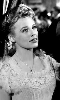 June Allyson...June Allyson (October 7, 1917 – July 8, 2006) was an American stage, film, and television actress.In 1951, she won the Golden Globe Award for Best Actress for her performance in Too Young to Kiss.