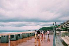 Lluvia de verano // Zarautz