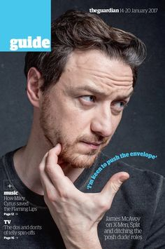 In tomorrow's Guide: James McAvoy on X-Men, @MNightShyamalan and how to play 23 characters in one https://twitter.com/guideguardian/status/819937989904203780/photo/1