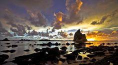 Tanjung Layar - Sawarna Beach, Bayah - Banten INDONESIA