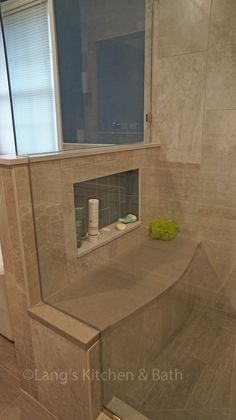 solid surface shower base with seat | Design | Pinterest | Shower ...